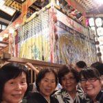【祇園祭前祭宵山】30代〜80代浴衣美人4名様をご案内しました。