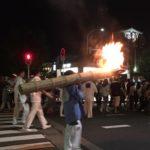 祇園祭は山鉾巡行だけではありません・神輿洗式に酔いしれる。