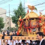 【レポート】祇園祭還幸祭、神輿渡御を神泉苑と八坂御供社にて