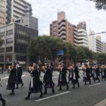 時代祭2016 京都御所に向かい出発する維新勤王隊列