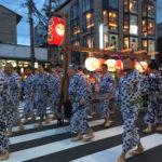 7月10日(火)あなたの知らない祇園祭 お迎え提灯と神輿洗い式